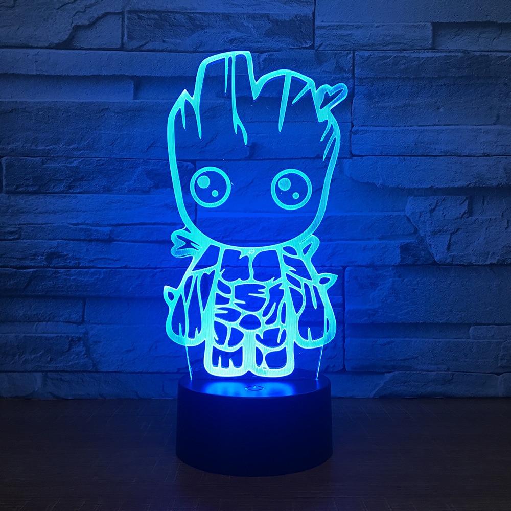 3D LED Night Light Cartoon 7 Colors Light for Home Decoration Lamp Amazing Visualization Optical Illusion Lighting Best Gift3D LED Night Light Cartoon 7 Colors Light for Home Decoration Lamp Amazing Visualization Optical Illusion Lighting Best Gift