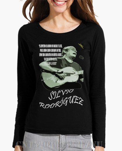 2017 Autumn Black friday Long Sleeve women Silvio Rodrguez - Cam and Sud O neck Casual Knitted 3d t-shirt women