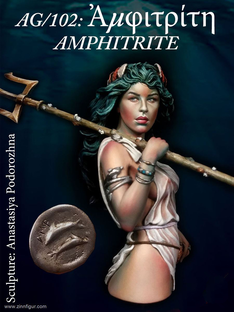 Resin Model Bust kit Amphitrite Ancient Greece Unpainted and unassembled Free shipping X147G 1 10 bust resin model kit young soldier 1944 figures model unpainted and unassembled free shipping 92dd