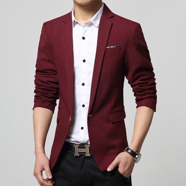 Бесплатная доставка S-4XL 2015new прибытия блейзер masculino корейская slim-подходят мужские пиджак мода свободного покроя костюмы 7 цвета пиджак