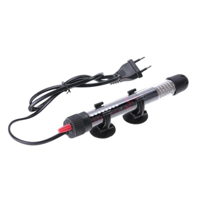 25/50/100/200/300W Aquarium Heater Rod Automatic Temper Adjustment Aquarium Submersible Fish Tank Water Heater Rod EU Plug