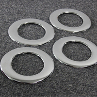 4pcs/set car styling stainless steel Chrome Roof Air vent ring cover trim for Dodge Journey Fiat Freemont 2012+