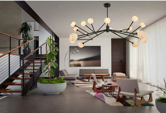 Fagioli sainavi postmoderna semplice lampadario creativo nordic