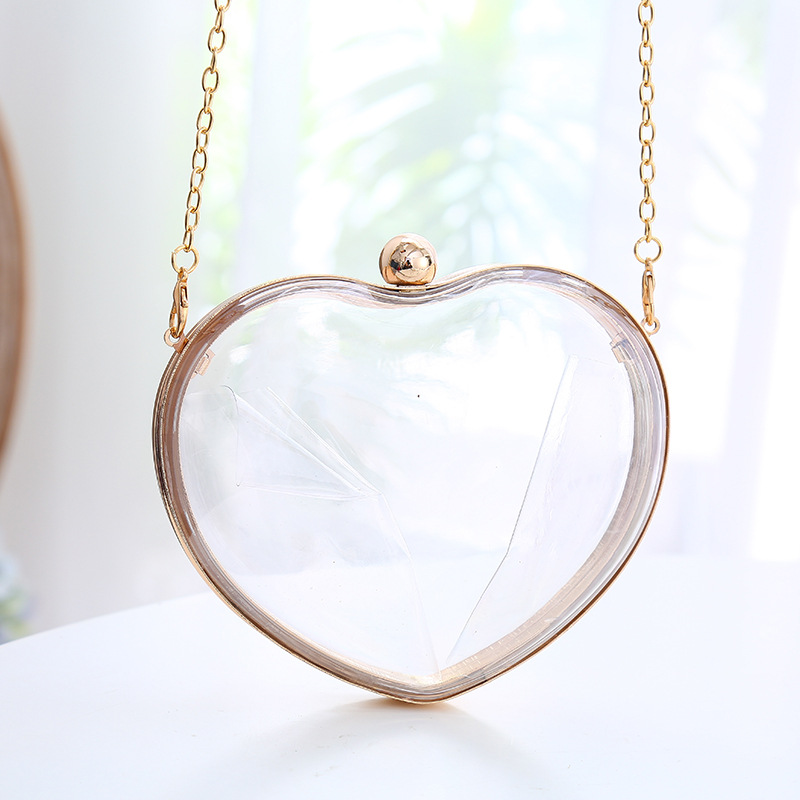Feminina Fashion Brand Cute Heart-shaped Acrylic Box Clutch Hard Wallet Clear Women Handbag Mini Vintage Evening Bag CrossbodyFeminina Fashion Brand Cute Heart-shaped Acrylic Box Clutch Hard Wallet Clear Women Handbag Mini Vintage Evening Bag Crossbody
