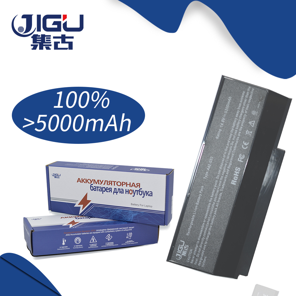 JIGU Laptop Battery For Asus 8 Cells Battery For ASUS G53 G53JW G53Sw G53Sx G73 G73Jh G73Jw VX7 A42-G73 quying laptop lcd screen for asus g53sw g53sw a1 g53jw a1 g53sx 15 6 inch 1920x1080 40pin tk