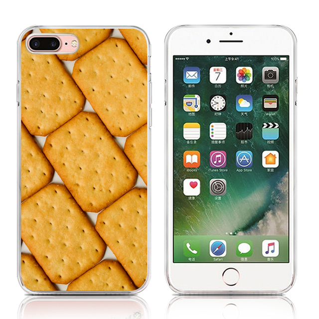 Food Series Phone Case For iPhone 4 4s 5 5s Se 6 6s 6 Plus 6s Plus 7 7 Plus High Quality Painted TPU Soft Silicone Cover Shell