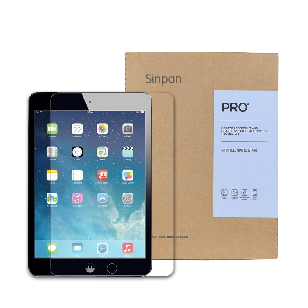 Sinpan 2 PACKS For iPad Pro 12 9 Inch Tempered Glass Screen Protector Ultra Clear Protective