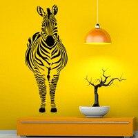 Zebra Duvar Çıkartmaları Hayvan At Vinil Çıkartması Sanat Duvar Çıkartmaları Moda Modern Çıkarılabilir Yapıştırıcı Yeni Şık