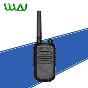 Image 1 - 100% Original  WLN KD C10 uhf 400 470MHz 16Channel mini two way radio FMR PMR walkie talkie KDC10