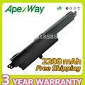 Apexway 2200 mah 11.25 v batería del ordenador portátil para asus vivobook x200ca f200ca a31n1302 a31lm9h ar5b125