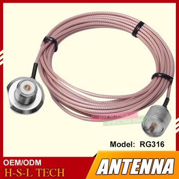 free ship 10m 20m teflon rf coaxial cable rg142 od 5mm cable connector 50ohm m17 60 shield cable Antenna Connector Extend Cable 5M Feeder Cable High Screen Clip Side Line For Car Radio Teflon Coaxial Cable Car Radio Accessory