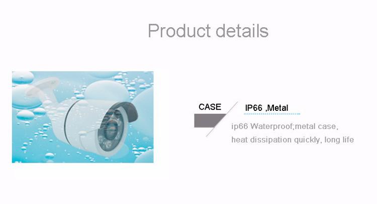 4pcs A Lot Similar to DaHua Six Array Leds 4MP 1080P 960P CMOS White Metal POE ONVIF IP Security CCTV Camera Free Shipping4
