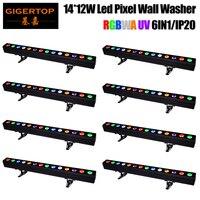 6pcs Lot Led Parcans Mini Led Par Light Free Shipping MINI 7 9W 4in1 Multi Color