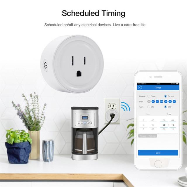 4PCS Smart Plug  WiFi Power Socket