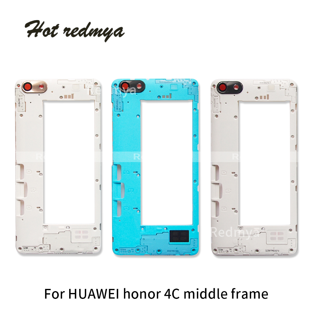Middle-Frame Replacement 4c-Housing Repair-Spare-Parts Honor Huawei for High-Quality