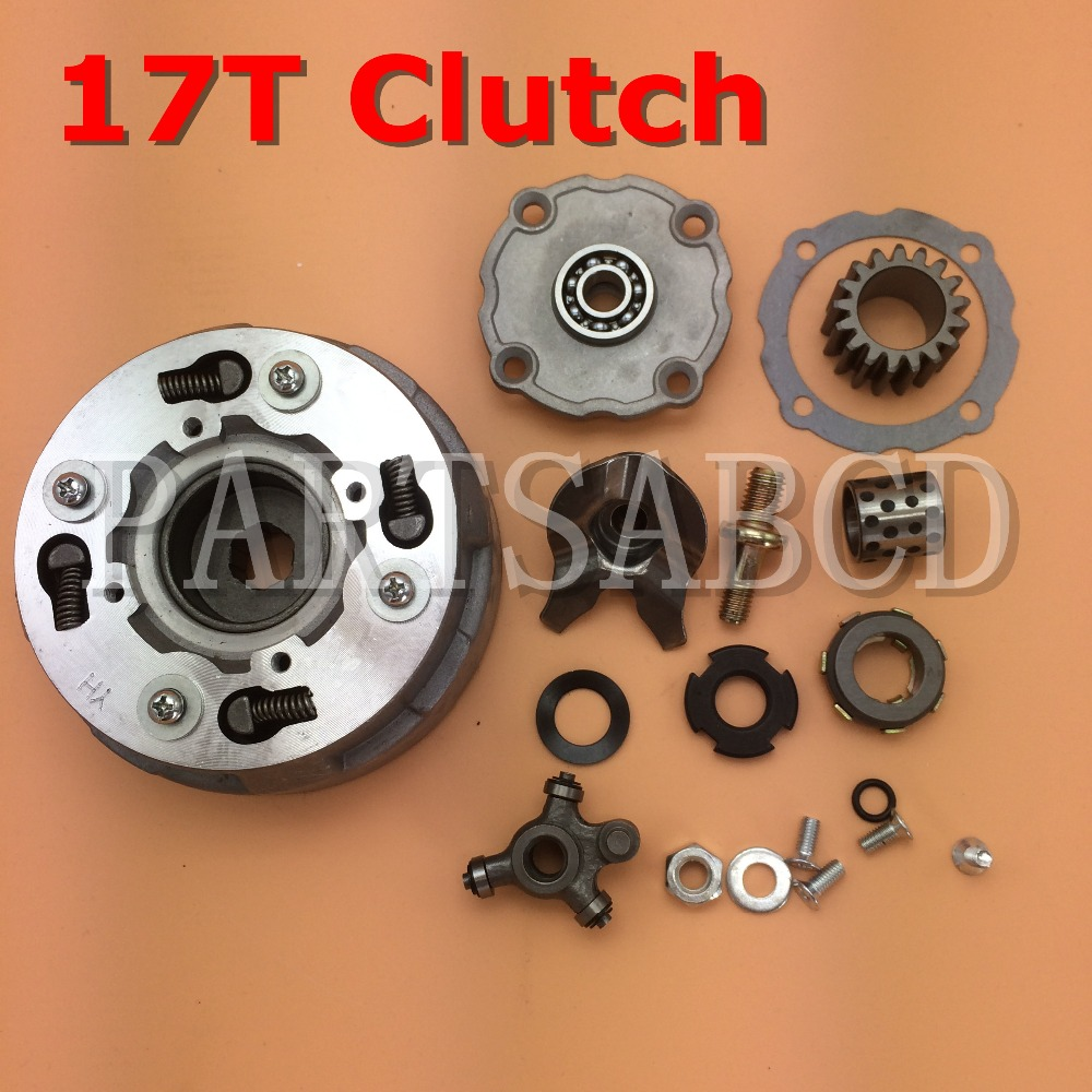 Us 12 99 Partsabcd Clutch Assy For Kazuma Meerkat 50cc Atv Quad In Atv Parts Accessories From Automobiles Motorcycles On Aliexpress