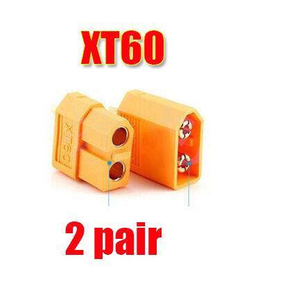 10/20 штук XT60 XT-60 штекерно-разъемы Вилки провод с силикатной гелевой обмоткой для Батарея(5/10 пар - Цвет: 2pair XT60
