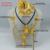 Plata brillante y Oro Habesha conjunto Etíope de La Joyería Nupcial de La Boda set Frente/Cuerda Colgante/Pendientes/Anillo/horquilla/Del Brazalete #000417