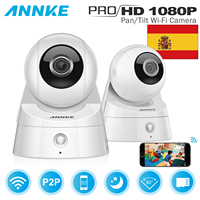 ANNKE 2MP 1080P HD Pan Tilt WiFi Wireless Security IP Network Camera 3D Control