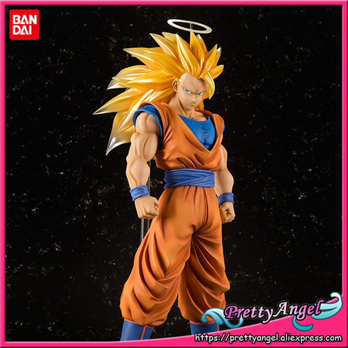PrettyAngel - Genuine Bandai Tamashii Nations Figuarts ZERO EX Exclusive Dragon Ball Z Super Saiyan 3 Son Goku Collection Figure japan anime dragon ball z 100% original bandai tamashii nations figuarts zero ex completely figure super saiyan trunks