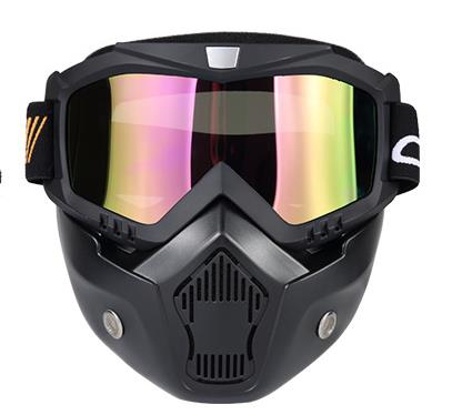 2018 Knights equipped with retro Halley masks cross country motorcycle racing goggles ri ...