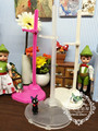 Free shipping 10 pcs /lot Transparen Doll Stand Display Holder For Barbie Doll,accessories for Monster inc High doll