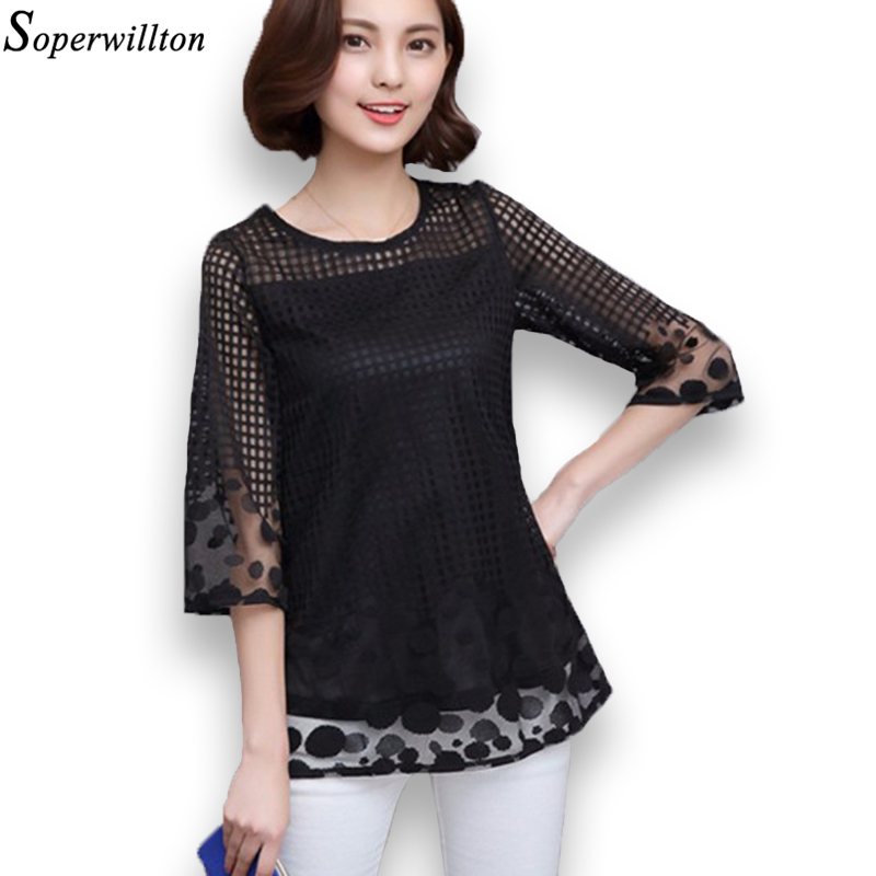 Elegant Com  Buy Women Summer Blouses Shirts 2016 Short Sleeve Chiffon Blouse