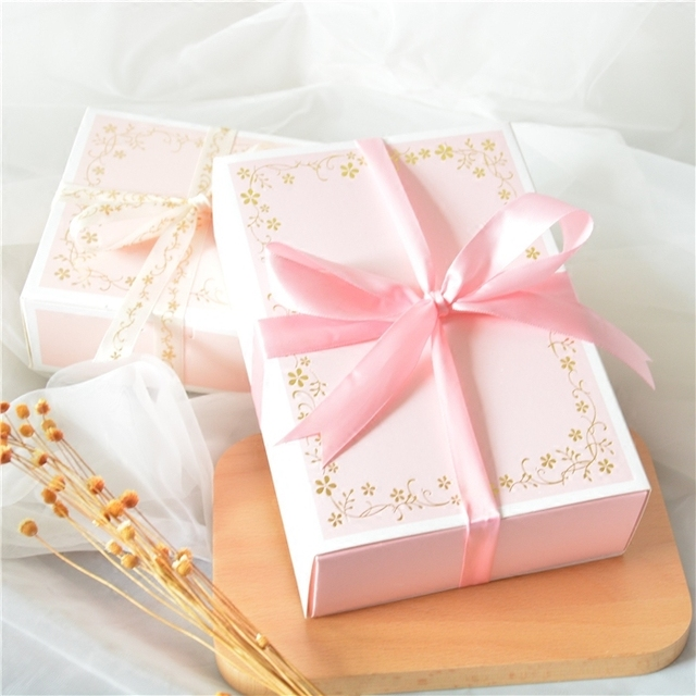 2018 Pink Wedding Candy Boxes Large Capacity Favors Gift Box Event