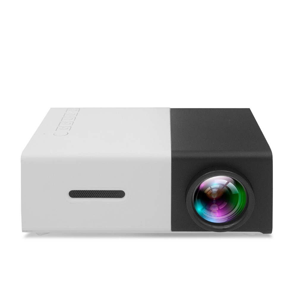 Yg310 Lcd Projector 600lm 320 X 240 1080p Mini Portable Hd: YG300 Projector Portable LCD 600LM 3.5mm Audio 320x240