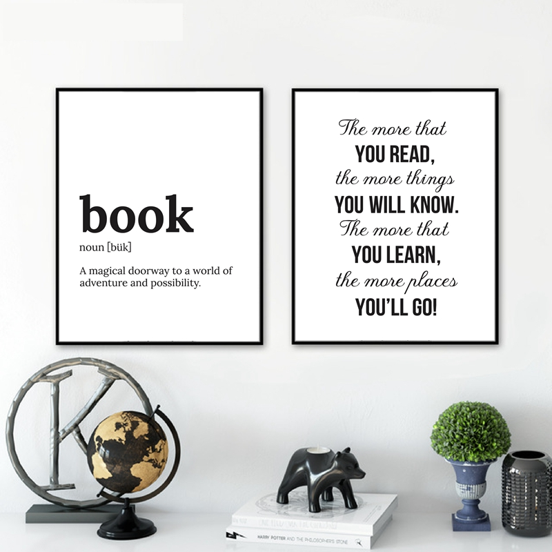 DR SEUSS QUOTE art print wall art poster print literary quotes kids print