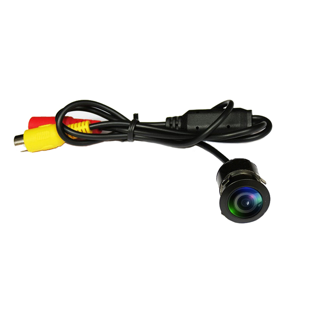 TUAO HD CCD Night vision Reverse Camera 140 Angle Car Rear view Camera IP67 DC 12V/24V Vehicle Camera for VW Ford Toyota & More