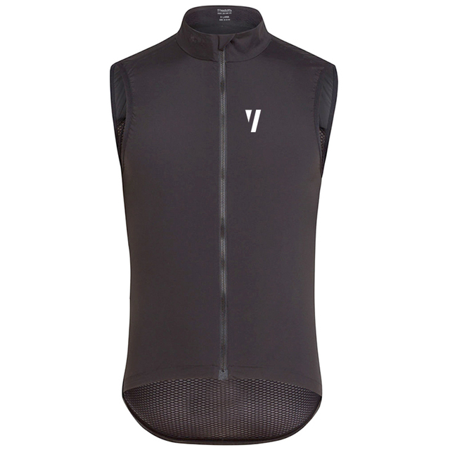 Colete 2018 Pro team Cycling Vest men bycicle mtb Windproof Sleeveless  Windbreaker cycling gilet Breathable back reflective logo 1087ed39f