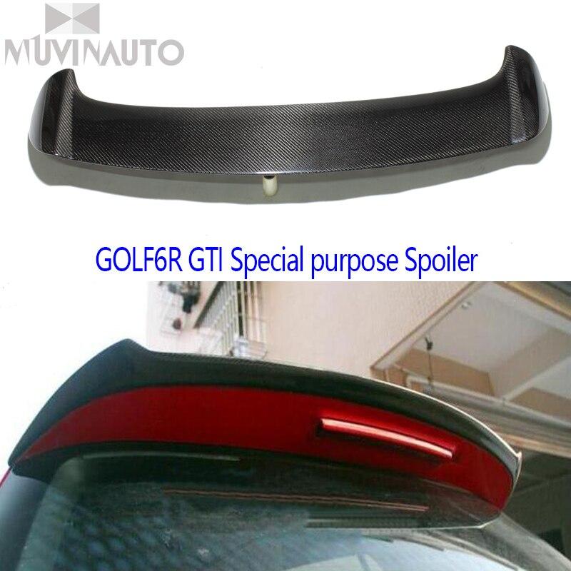 For Volkswagen GOLF6GTI Spoiler For VW Golf6R GTI Carbon fiber Spoilers GTI OSIR Style Spoiler