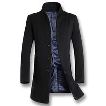 ISurvivor, 2020, chaquetas de lana informales de negocios para Hombre, moda para Hombre ajustada, chaquetas de otoño e invierno de talla grande, Parkas
