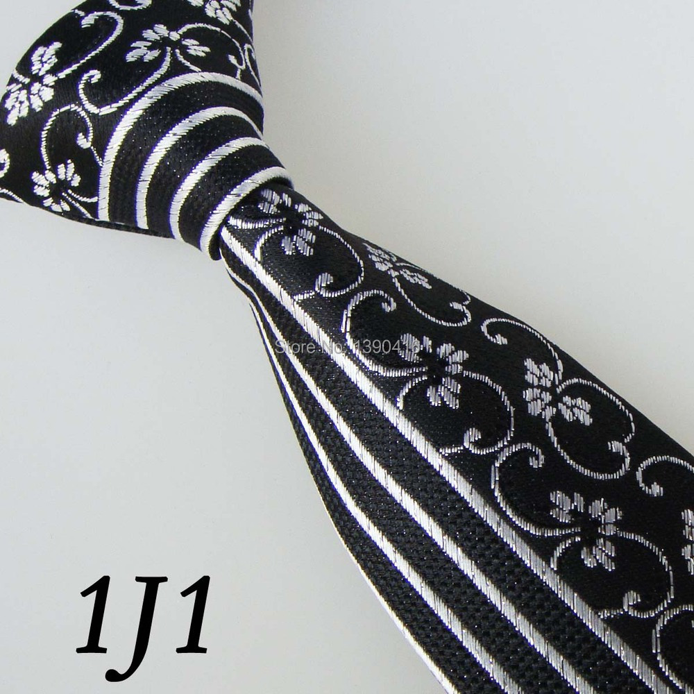 2018 Cravates Pour Hommes Latest Style Mens Ties Border Black/Gray Striped Geometric Design Gifts For Men&Mens Brand Tie