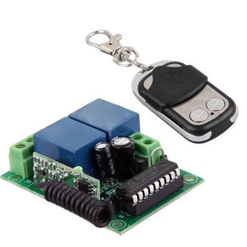 HFES New Universal Gate Garage Opener Remote Control + Transmitter input ac110v   sliding gate opener motor
