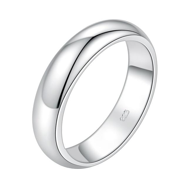 Classic moda uomo donna all'ingrosso gioielli in argento 925 anello, anello