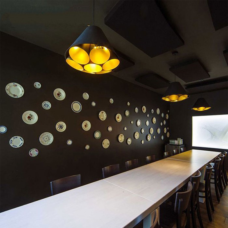 Nordic Aluminum Dining Room Pendant Lamp Simple Art Style Restaurant Living Room Lamp Coffee Shop Decoration Light Free Shipping