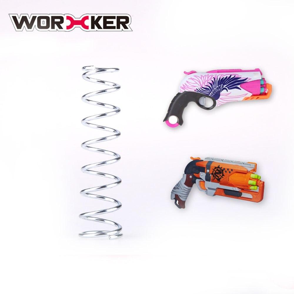 Работника 5 кг модификации обновление Весна для nerf hammershot и Rebelle сладкий Destiny Dart наживается Revolver серебро для nerf Игрушечные лошадки ...