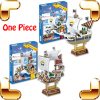 New Arrival Gift One Piece 3D Model Cartoon Anime Ship Puzzle Thousand Sunny Going Merry DIY