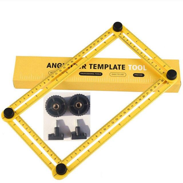 DIY Angle Template Tools Multi Angle Measuring Ruler AngleTemplate