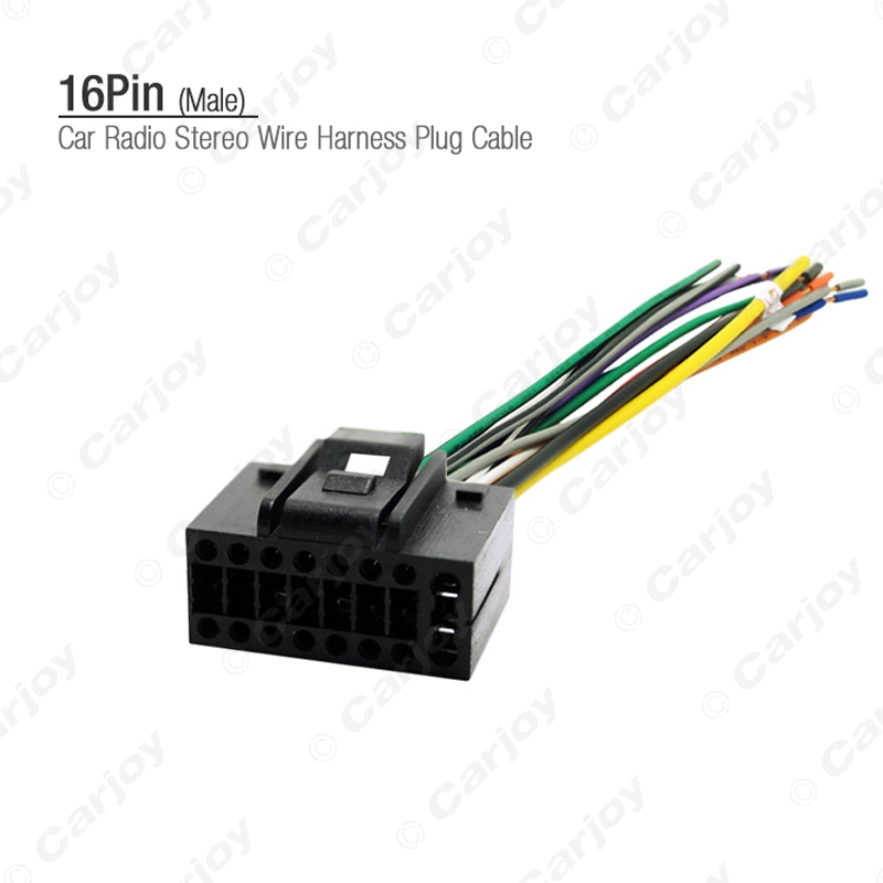 online get cheap stereo wiring harnesses aliexpress com alibaba car 16pin stereo wire harness plug cable male connector for chevrolet aveo lova sedan chery landwind car factory oem radio 3458