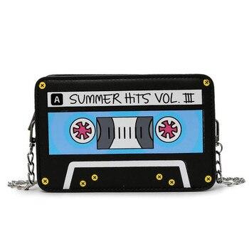 сумка оригинальная в виде кассеты
