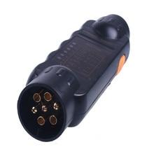 Буксировка прицепов лампа тестера кабель 7 контактный разъем розетка тестер высокое качество и