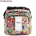 Pájaros de vuelo 2016 bolsas de mensajero de las señoras de la Alta Calidad del bolso de las mujeres Bolsa de Hombro nuevo bolso mujeres de los bolsos crossbody LS5314