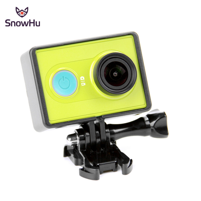 SnowHu Camera Case Frame Cover For Xiaomi Yi Standard Protective Case For Xiaomi Yi Action Camera Accessories LD05