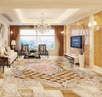 HD European 3d Flooring Custom Wallpaper For Walls 3 D Floral Angel Rose Living Room 3d