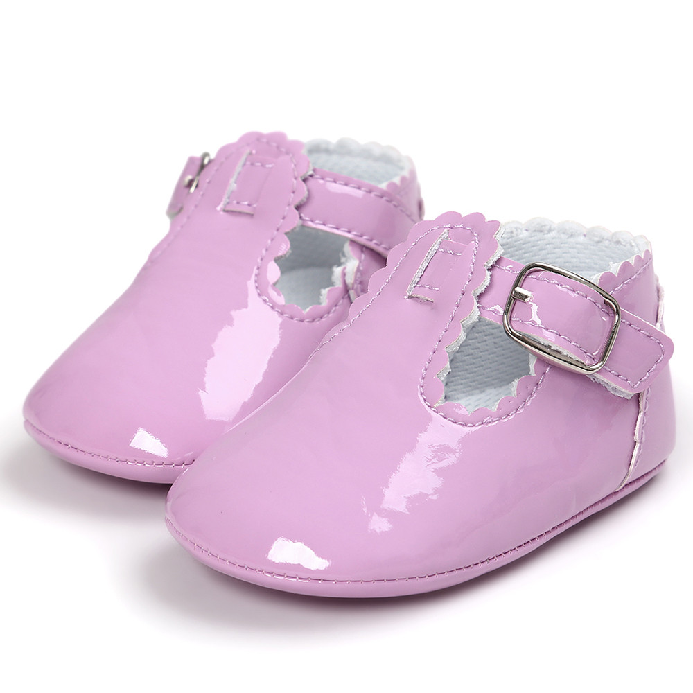 TELOTUNY baby moccasins girl shoes Princess Soft Sole newborn shoes a801 17