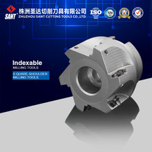 Indexable square should milling cutter EMP02-050-A22-AP16-05 serials milling tool