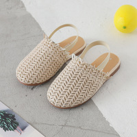 Girls Home Slippers Kids Weave Sandals Boy 2019 Summer Fashion Casual Sandals Comfortable Children's Slipper